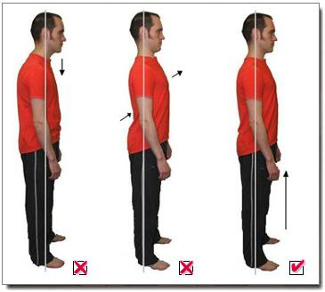 Good posture technique